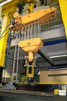 Air Operated Monorail Hoist offers lift capacity of 125 tons.