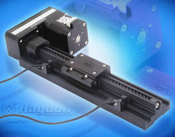 Motorized Linear Rail System saves space with fold-over design.