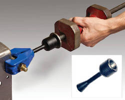 Slide Hammer Pull Adapter aids auto body repair technicians.
