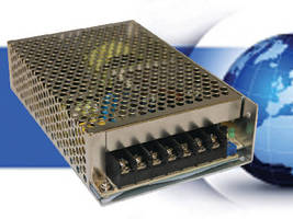 Switching AC/DC Power Supply delivers 100 W regulated output.