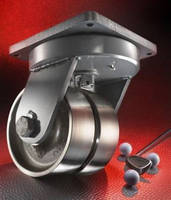 Heavy-Duty Casters target equipment, aerospace manufacturers.
