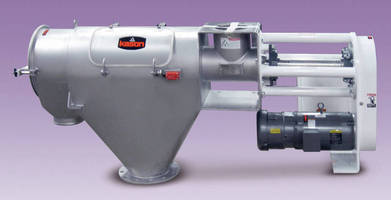 Centrifugal Screener accelerates cleaning, screen changes.