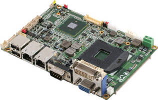 Sub-Compact SBC features Intel� QM57 chipset.