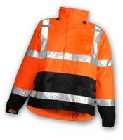 Waterproof Outerwear comes in fluorescent orange.