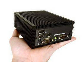 Rugged Fanless Mini PC suits mobile, industrial applications.
