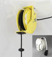 Retractable Power Cord Reels feature 30 A/600 V rating.