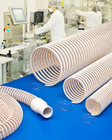 Static Dissipative Hose  aids clean room safety.