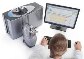 Particle Size Analyzer handles friable dry powders.