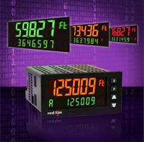 Digital Panel Meter offers dual counter, dual rate meter.