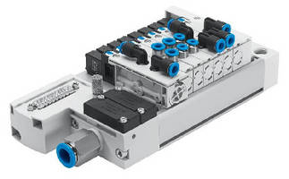 Semi-Inline Manifold Valves feature engineered polymer construction.