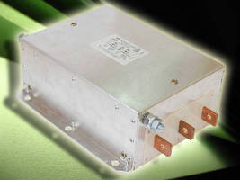 Three-Phase RF Filters target renewable energy equipment.