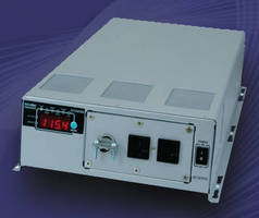 Pure Sine Wave Inverter delivers 5 kW max from compact package.