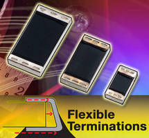 Bulk Metal� Foil Chip Resistors feature flexible terminations.