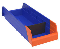 Two-Toned Bins offer effective, at-a-glance inventory control.