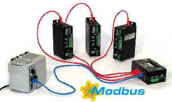 Stepper Indexer/Drivers include Modbus TCP connectivity.
