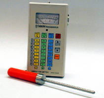 Vibration Meter provides periodic routine equipment checks.