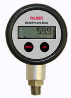 Digital Pressure Gauges display positive and negative pressure.