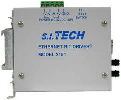 Fiber Optic Modem supports 10/100 Mbps Ethernet.