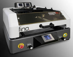 Tabletop Screen/Stencil Printer features semiautomatic operation.