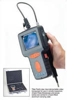Articulating Video Borescopes perform on-site inspections.