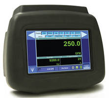 Portable Ultrasonic Meter measures flow and heat as needed.