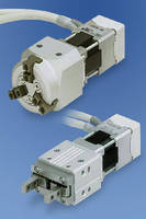 Electric Grippers handle high-speed applications.