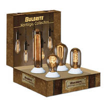 Light Bulbs preserve look of early 20th-century lighting.