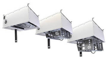 Ceiling Enclosure provides 50 lb capacity for projector.