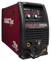 MIG-Stick-TIG Welder delivers 5-300 A output.