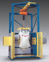 Bulk Bag Conditioner loosens solidified materials.