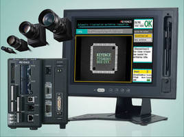 Vision System supports line scan cameras, 3-core processor.
