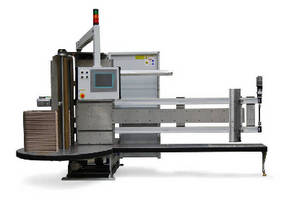 Electric Coil Form Machine handles coils up to 60 in. wide.
