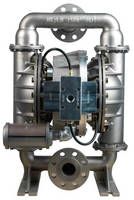 High-Pressure AODD Pumps suit plating/finishing applications.