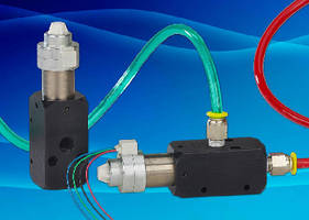 Two-Way Proportional Valve features 0-300 slpm flow range.