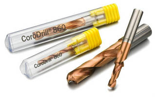 Solid Carbide Drill delivers optimized chip evacuation.
