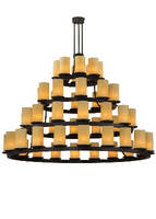 Four Tier Chandelier has 52 light design.