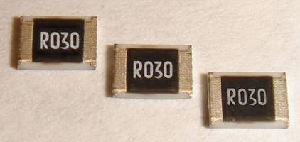 SMD Current Sensing Resistors come in 1210 case size. .