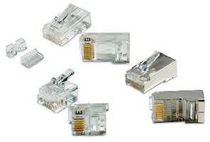 Modular Plug Connectors feature 50 �m gold plating.