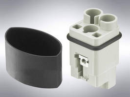 Power Connectors are available with crimp termination.