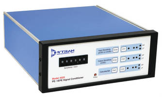 Signal Conditioner works with charge mode and IEPE sensors.
