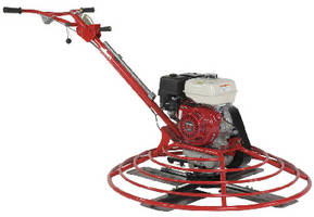 Walk-Behind Power Trowels offer rotor speeds up to 150 rpm.