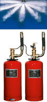 Fire Suppression System utilizes waterless technology.