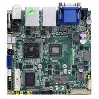 Nano-ITX Motherboard offers dual-display capability.