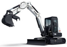 Compact Excavator is offered with extendable arm.