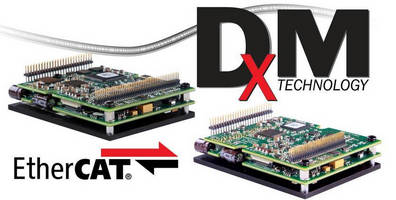 EtherCAT� Servo Drives use demultiplexed motion technology.