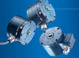 Optical Incremental Encoders withstand challenging conditions.
