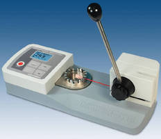 Wire Terminal Pull Tester accommodates up to 0.25 in. samples.