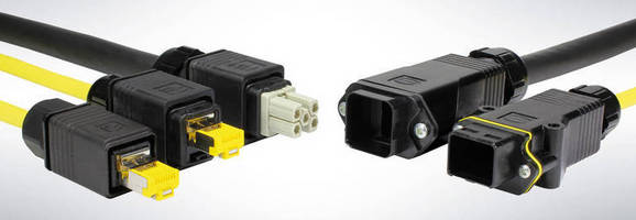 Cable-to-Cable Housings enable flexible cabling systems.