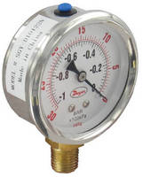 Industrial Pressure Gauges provide �1.5% full-scale accuracy.