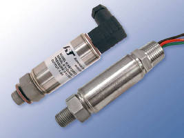 Pressure/Temperature Sensors feature dual output configuration.